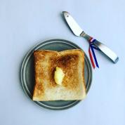 ウチ、好きやねん! 100時間超熟成の食パンが #深夜のこっそり話 #1199