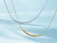 しなやかな曲線美とダイヤモンド。4℃から、夏の日差しにきらめくサマーコレクションが登場。