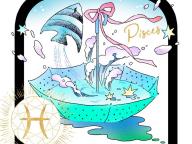 愛のエネルギーに満ちた優しいマリンブルー。魚座×アクアマリン