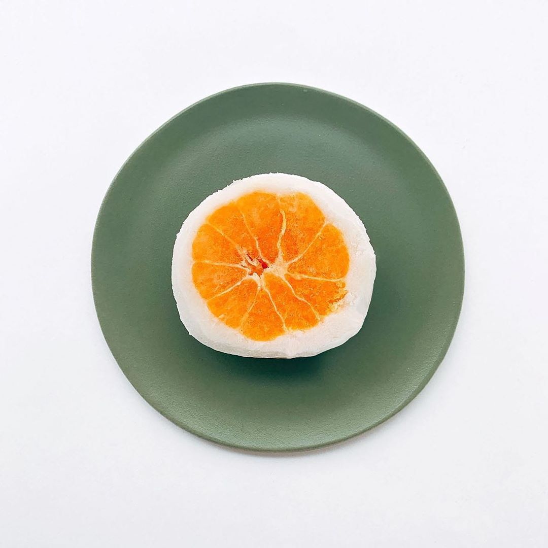 半解凍で食べてもOK! みかんが主役のフルーツ大福