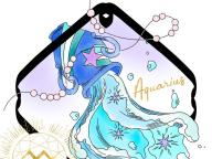 COOLに自分らしさを表現できる繊細なブルー。水瓶座×ラピスラズリ