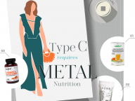 タイプC:ストレスで食生活が乱れがちなあなたに必要なのは、「金」の要素をもつサプリ