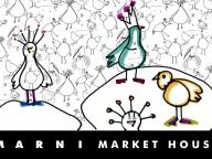 """主役は""""しあわせの鳥""""。「MARNI MARKET HOUSE」が新宿伊勢丹にて開催"""