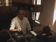 """""""はしごワイン""""の締めは茶寮で #深夜のこっそり話 #620"""