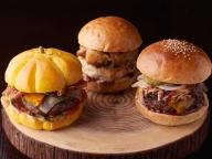"""ハロウィンの""""かぼちゃ型""""バーガーなど、ラグジュアリーホテルのハンバーガーに新作登場!"""
