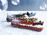 28cmのエクレアも登場! 「アンダーズ 東京」のクリスマスケーキ