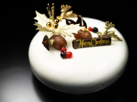 大人の気品漂うエレガントな「シャングリ・ラ ホテル 東京」のクリスマスケーキ