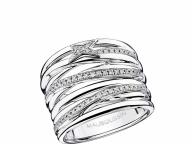 【MAUBOUSSIN】ダイヤモンドのラインが描く流れ星の軌跡