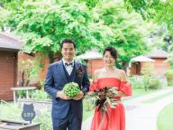 本質的なラグジュアリーとは? 家族の結束を強めた結婚式