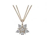 【Chopard】ダイヤモンドを連ねたゴージャスな星を胸元に
