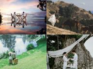 自然の中でリラックス! 非日常空間で叶える絶景フォトウェディング