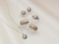 シルクをジュエリーで表現したアベリの新作コレクションが発売