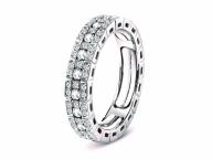 【Damiani】花嫁の指にいつまでも寄り添う、新構造のニューカマーリング