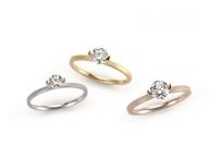 ニーシングから、2ctダイヤが際立つミニマムデザインのエンゲージリング新登場
