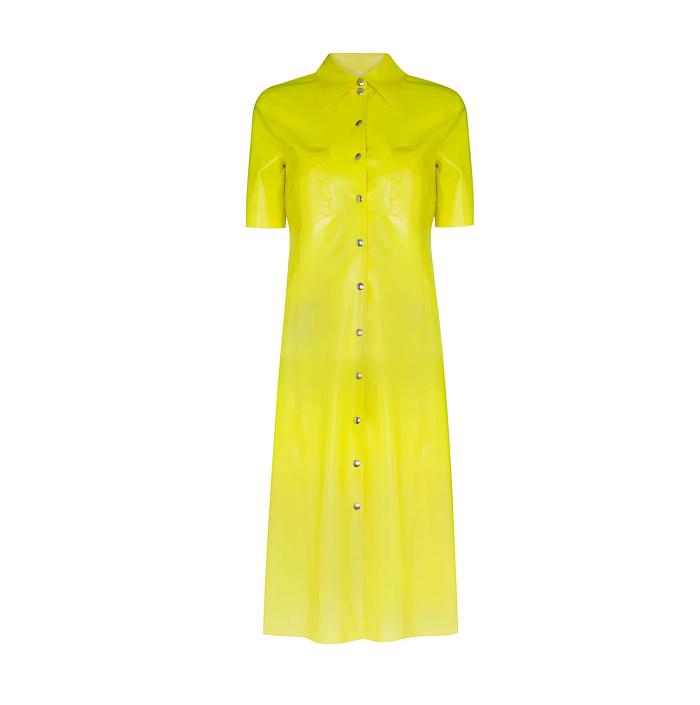 クヮイダン・エディションのボタンシャツドレス by ヘアメイクR