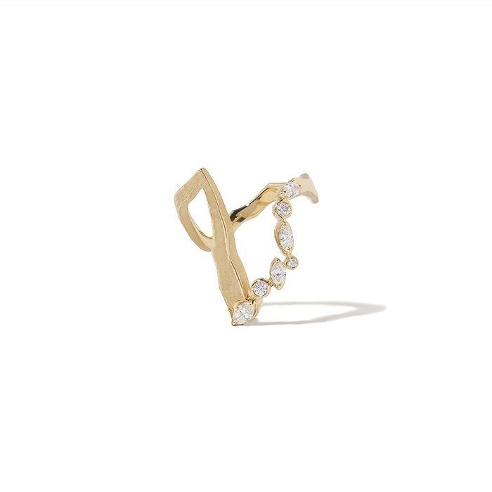 Kintsugi Victoria リング〈YG、ダイヤモンド〉¥382,800