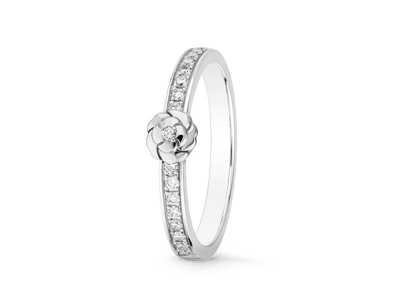 リング〈PT、ダイヤモンド〉¥344,000