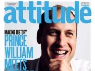 ウィリアム王子がゲイのライフスタイル雑誌、英attitude誌のカバーに