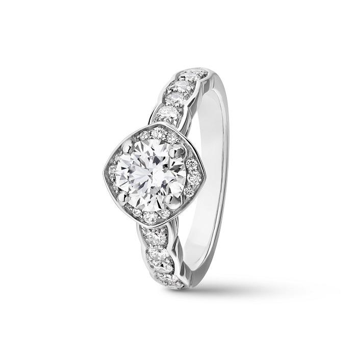 「ココ クラッシュ」リング〈PT、ダイヤモンド〉¥000,000
