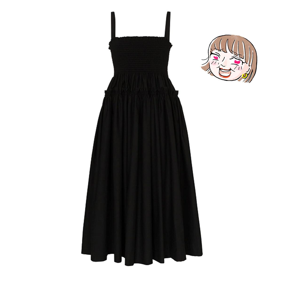 モリー・ゴダードのプリーツドレス by スタイリストS