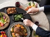 シェアターンテーブルで食す、新スタイルウェディング!ベジタブルレストラン「クロストーキョー」が赤坂にリニューアルオープン