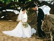 Vol.38 市川綾子さんのハワイで叶えた大人のプライベートウェディング