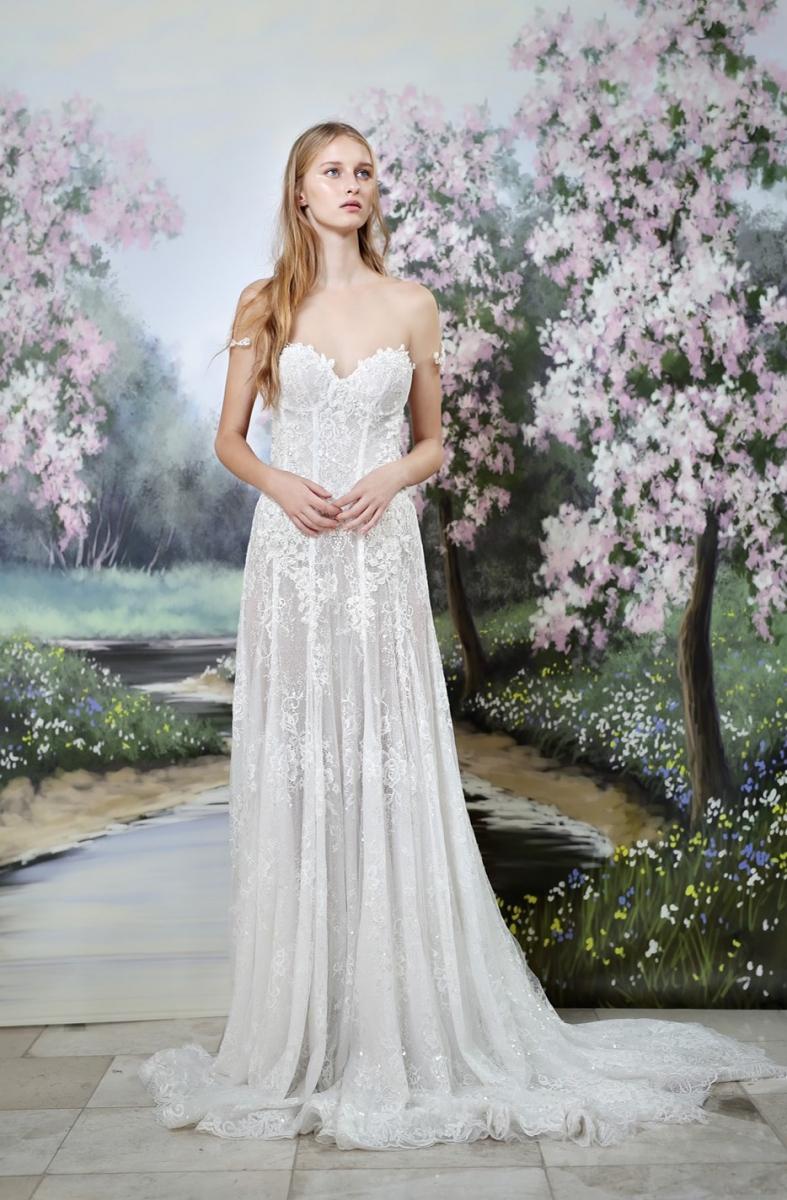 スペイン発Galia Lahav(ガリア・ラハヴ)のドレス