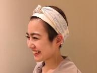ショートヘアを大人モードで彩るパールイヤーカフ