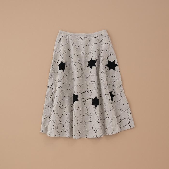 完全受注生産のリネンスカート【ザジコ】