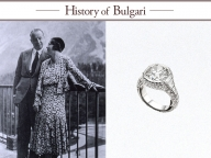 """""""永遠の都""""ローマの愛の物語を紡ぐ、ロマンティックな「ブルガリ」のリング"""
