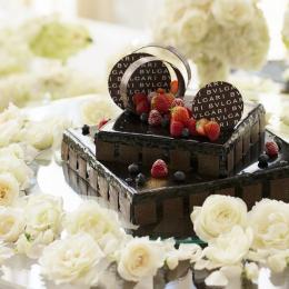リュクスな大人婚が叶う! 誕生石をテーマに「ブルガリ 東京レストラン」がブライダルフェアを開催