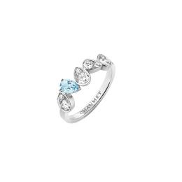 幸運のサムシングブルーも! ショーメから新作ダイヤモンドリングが誕生