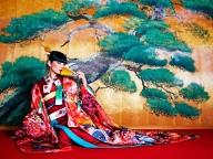 蜷川実花ディレクションブランド「M / mika ninagawa」のウェディングコレクションに和装が登場!
