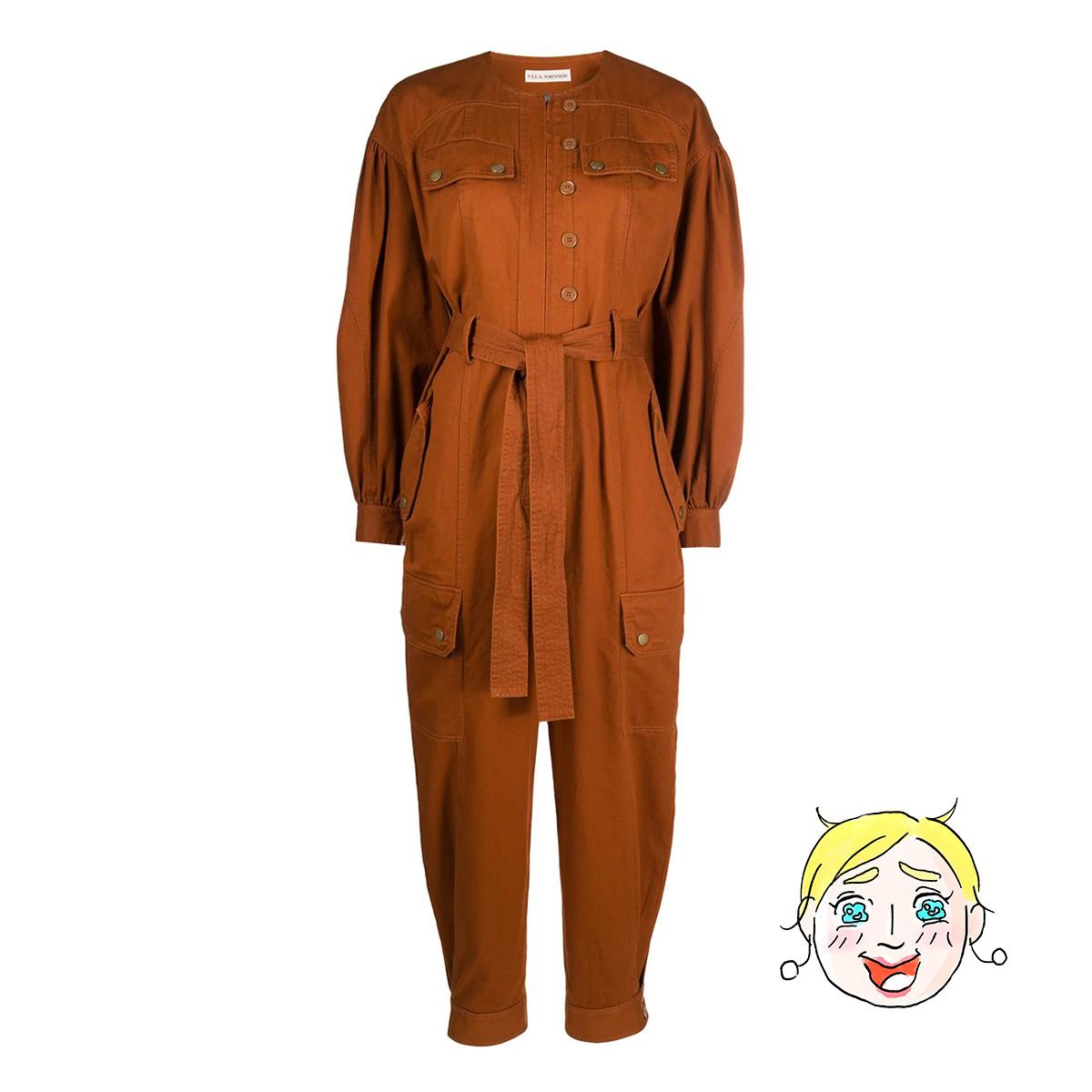 ウラ・ジョンソンのジャンプスーツ by ライターH