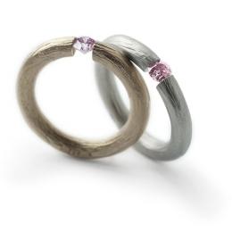 希少なピンクダイヤモンドのブライダルリングが期間限定で登場! ニーシングのブライダルフェアに注目