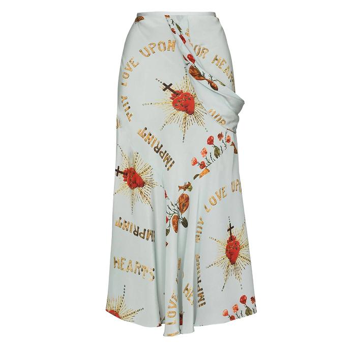 シモーン・ロシャのドレープスカート by スタイリストS