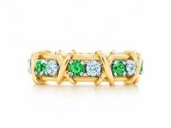 【TIFFANY & CO.】ダイヤモンドとの輝きのコントラストを堪能したい