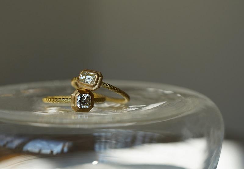 LIMITED PIECE Diamondリング〈ダイヤモンド、YG〉¥297,000~