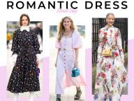 【ロマンティックワンピース】どう着る? 甘いムードのドレス