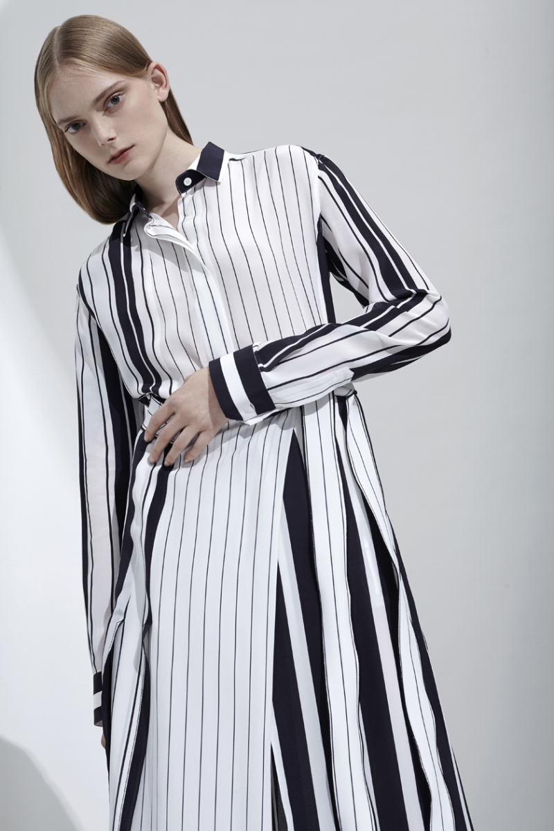 stripes dress fashion trend 2017