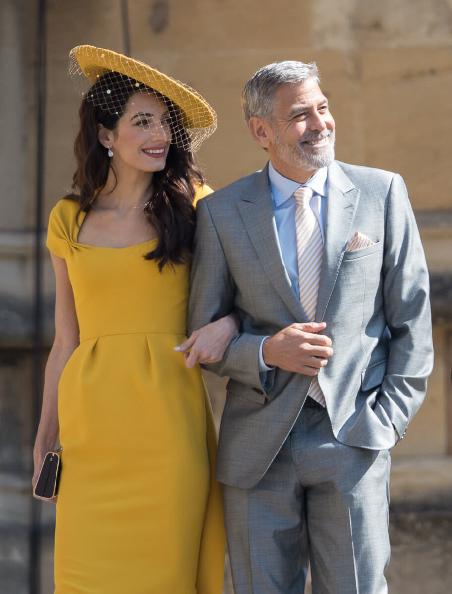 ジョージ&アマル・クルーニー夫妻とは、夫婦ぐるみで仲良しのメーガン・マークル。