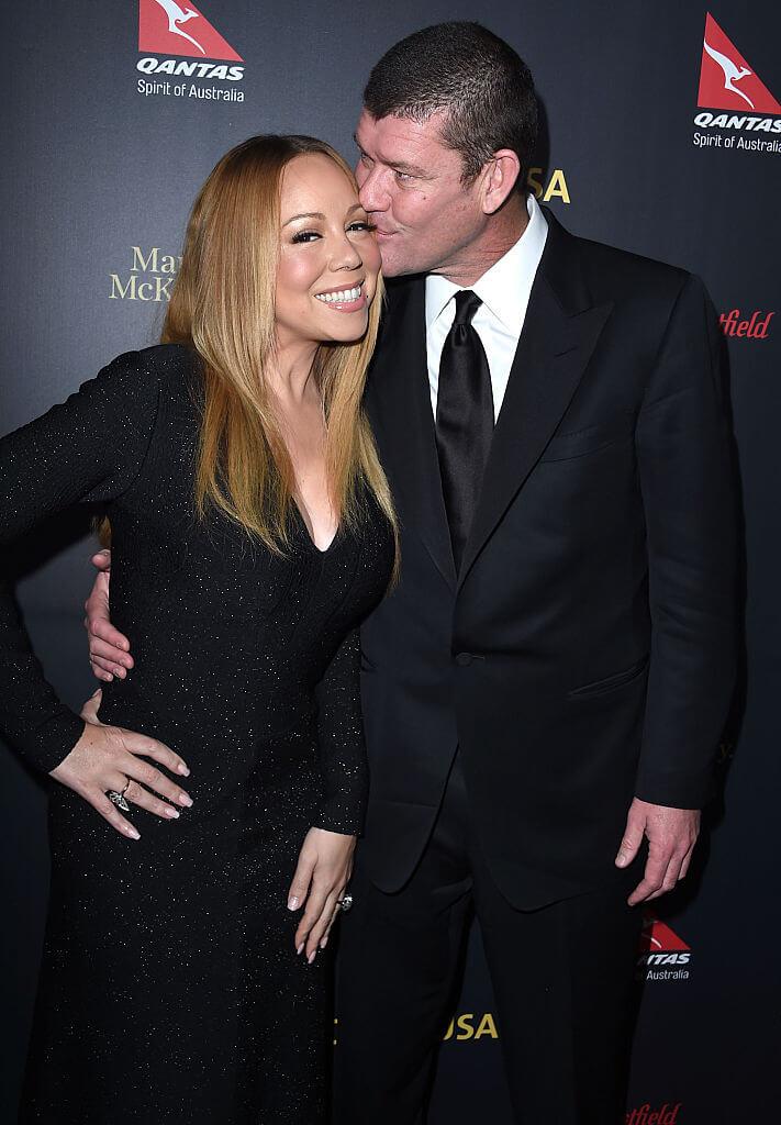 ジェームズ・パッカーとは婚約を発表するも、わずか1年未満で婚約破棄したマライア・キャリー。