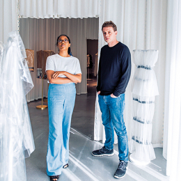ジョナサン・アンダーソンとアンセア・ハミルトンが語るファッションとアート