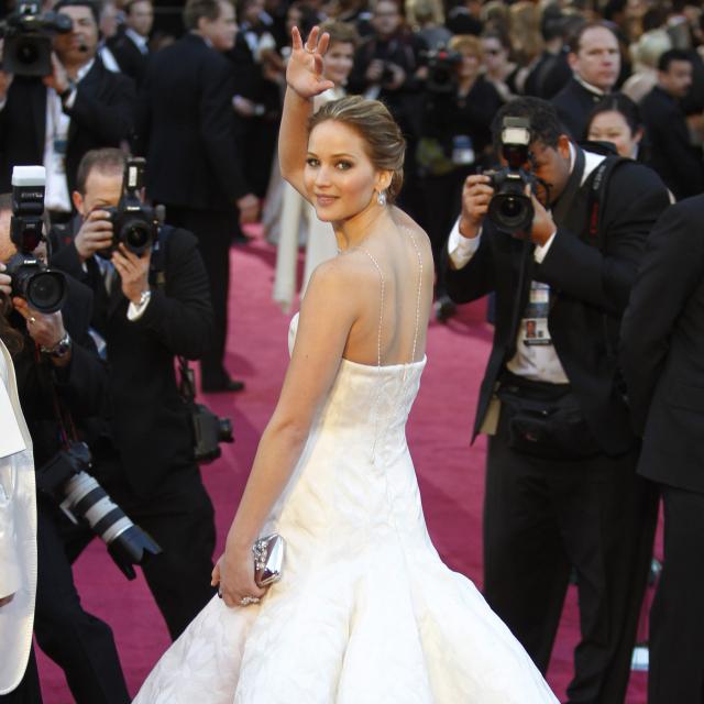 アカデミー賞授賞式で着用した、ディオールのドレスはハウマッチ?