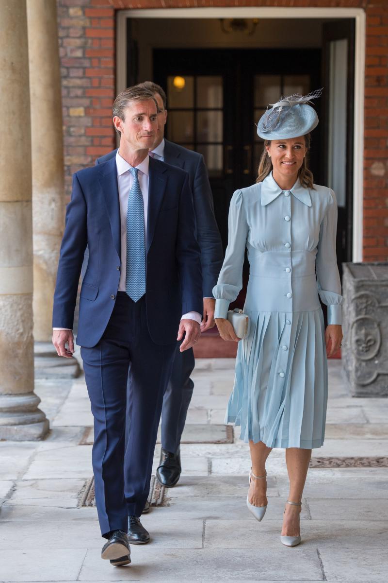 キャサリン妃の妹のピッパ・ミドルトンと、夫のジェームズ・マシューズ。Photo:Getty Images