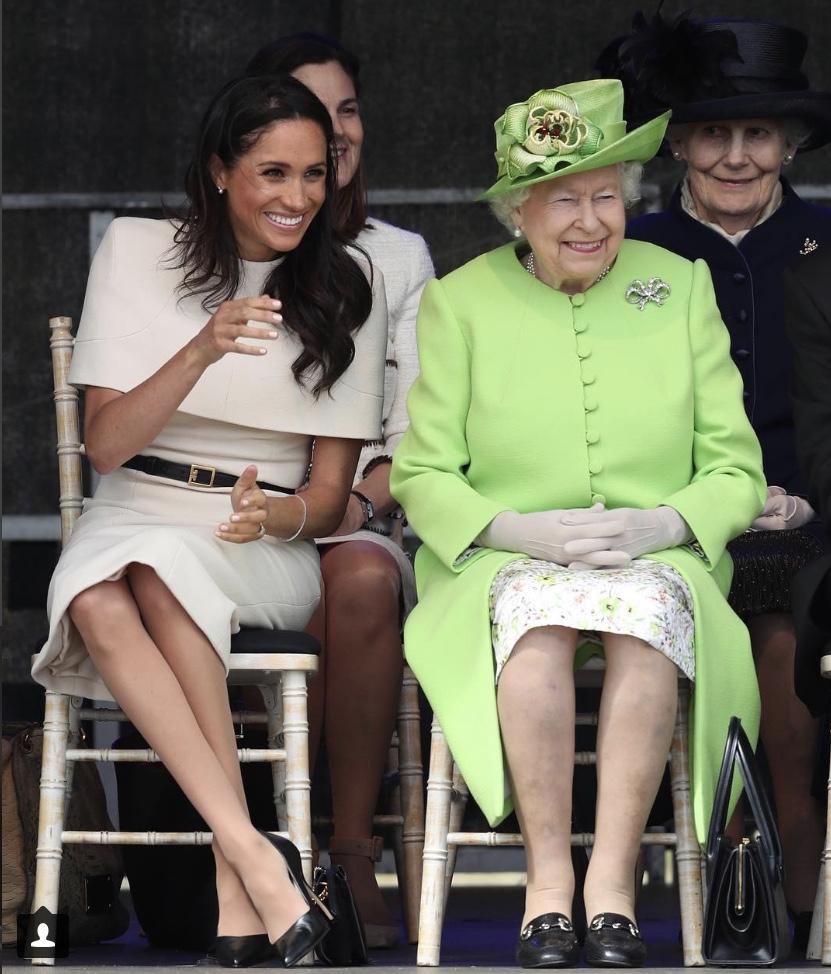 英王室の公式インスタグラムに投稿された写真には、わずか2日間で約72万以上もの「いいね!」がされている。Photo:Instagram(@kensingtonroyal)