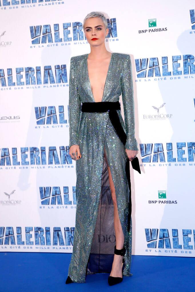 2016年にモデルから女優へと転身したカーラ・デルヴィーニュ。