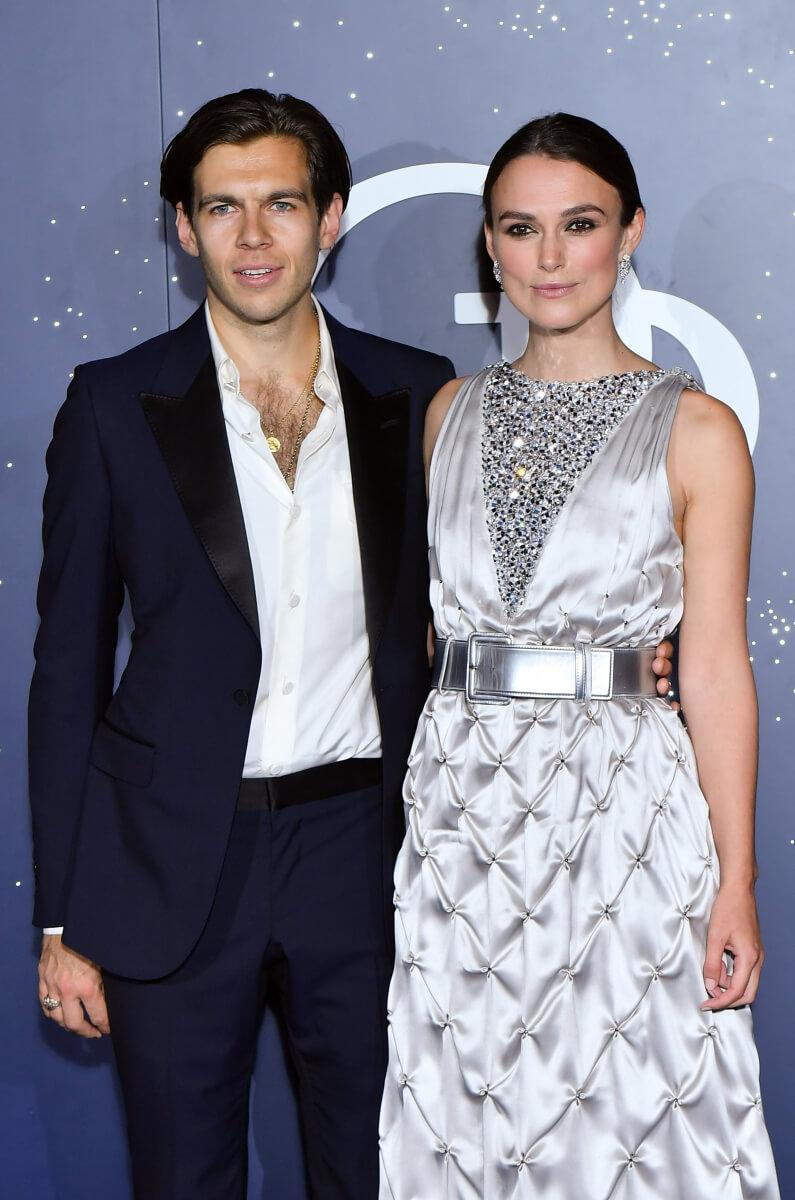 2011年からは、現夫でミュージシャンのジェイムズ・ライトンと交際をスタートさせたキーラ・ナイトレイ。