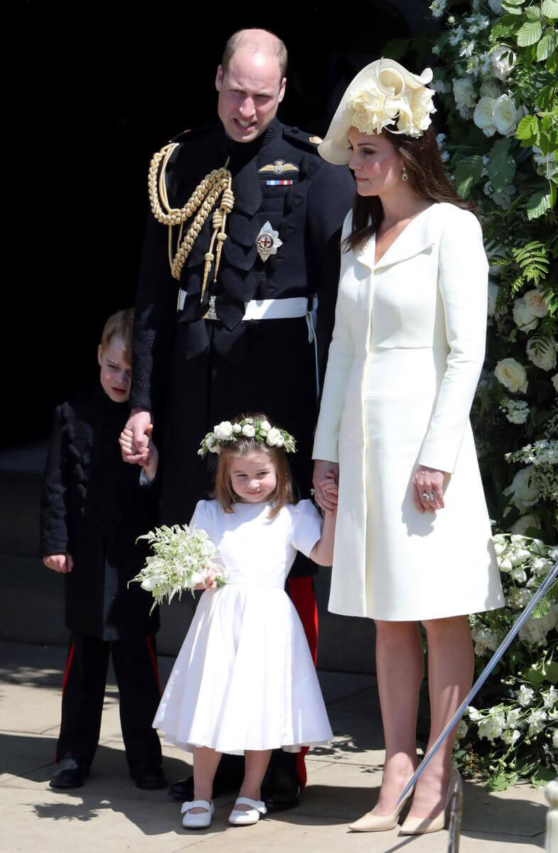 ウィリアム王子とキャサリン妃の子どもたち、ジョージ王子とシャーロット王女も式典に出席。