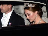 何度見ても美しい! キャサリン妃、故・ダイアナ元妃のティアラをつけて公務に登場